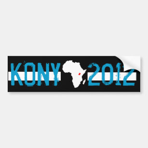 find kony bumper stickers car stickers zazzle