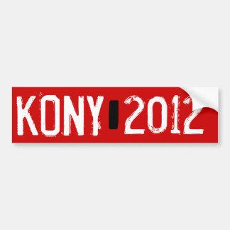 Kony 2012 car bumper sticker