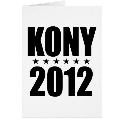 Kony 2012 cards