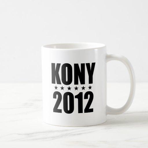 Kony 2012 classic white coffee mug