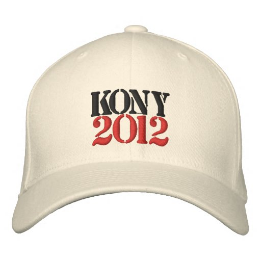 KONY 2012 Embroidered Hat