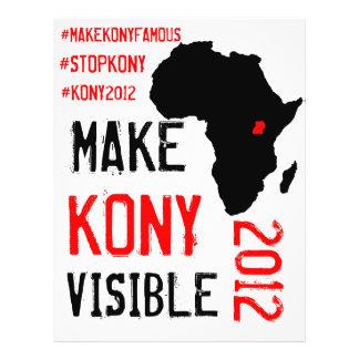 Kony 2012 Flyers - Action Kit
