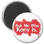 Kony 2012 fridge magnet
