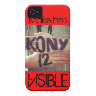 Kony 2012 iPhone 4 cárcasa