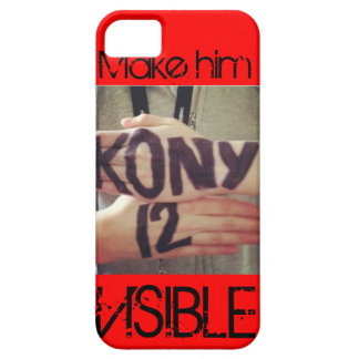 Kony 2012 iPhone 5 Case-Mate cobertura