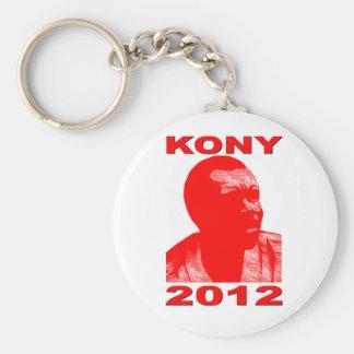 Kony 2012. Haga a los niños invisibles visibles. Llavero Redondo Tipo Pin