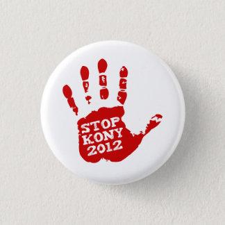 Kony 2012 Handprint Stop Joseph Kony Button