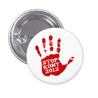 Kony 2012 Handprint Stop Joseph Kony Pins