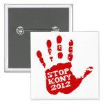 Kony 2012 Handprint Stop Joseph Kony Buttons