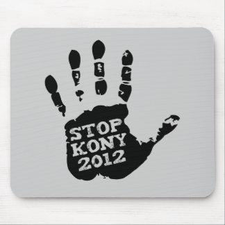Kony 2012 Handprint Stop Joseph Kony Mouse Pad