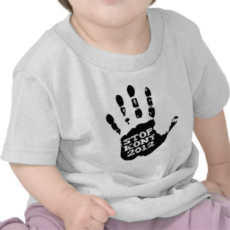 Kony 2012 Handprint Stop Joseph Kony T Shirt