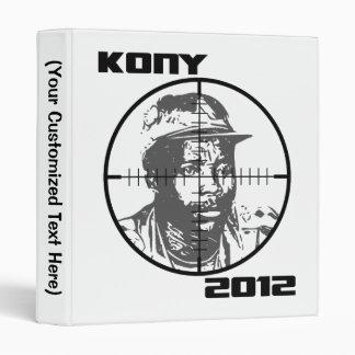 Kony 2012 Joseph Kony Target Crosshairs Binder