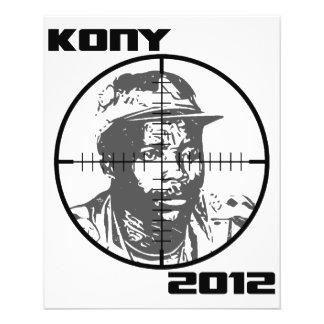 Kony 2012 Joseph Kony Target Crosshairs Flyer