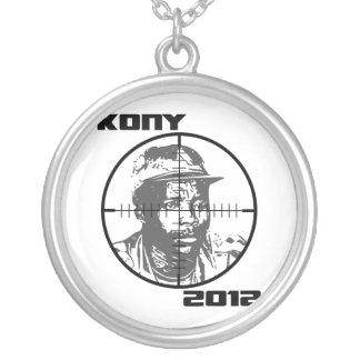 Kony 2012 Joseph Kony Target Crosshairs Necklaces