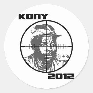 Kony 2012 Joseph Kony Target Crosshairs Stickers