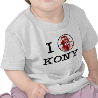Kony 2012 Joseph Kony Target Crosshairs Tee Shirts