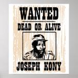 Kony 2012 Joseph Kony Wanted Poster