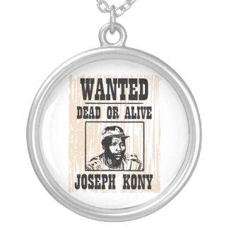 Kony 2012 Joseph Kony Wanted Poster Pendant