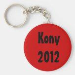 Kony 2012 llavero personalizado