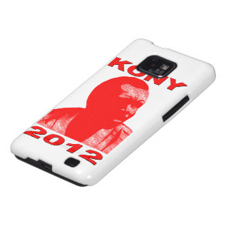 Kony 2012. Make Invisible Children Visible. Now. Galaxy SII Covers