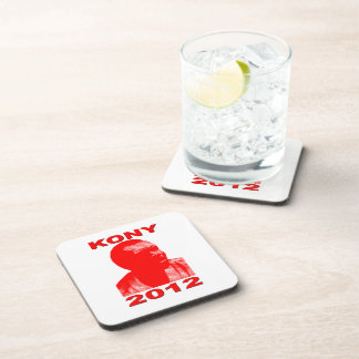 Kony 2012. Make Invisible Children Visible. Now. Coaster