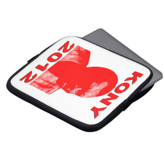Kony 2012. Make Invisible Children Visible. Now. Laptop Computer Sleeve