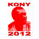Kony 2012. Make Invisible Children Visible. Now. Postcard