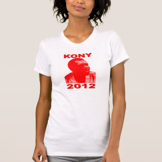 Kony 2012. Make Invisible Children Visible. Now. Tshirt