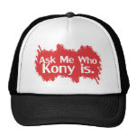 Kony 2012 mesh hats