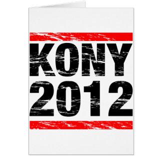Kony 2012 Movement Card