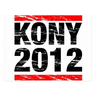 Kony 2012 Movement Postcard