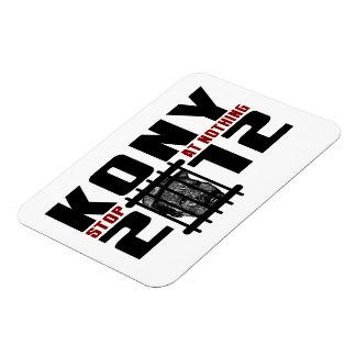 Kony 2012 - Pare en nada Imán Rectangular