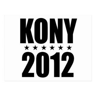 Kony 2012 postcard