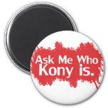 Kony 2012 refrigerator magnet