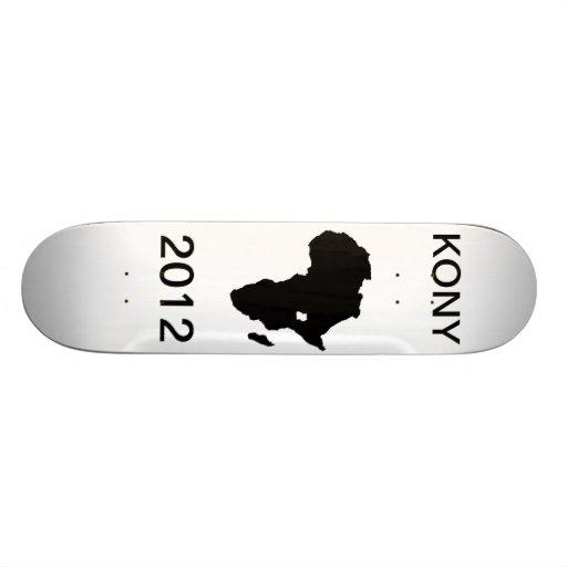 Kony 2012 Skateboard