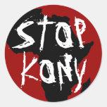 Kony 2012 stickers
