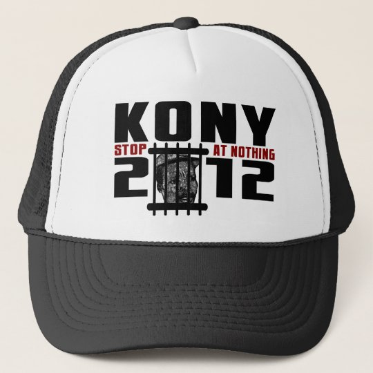 Kony 2012 - Stop at Nothing Trucker Hat