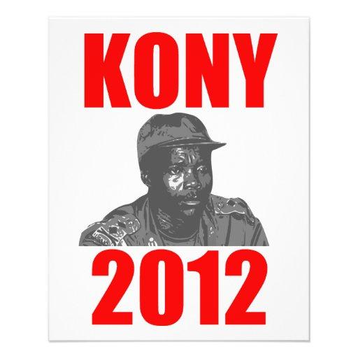 "Kony 2012 Stop Joseph Kony 4.5"" X 5.6"" Flyer"
