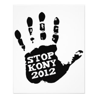 Kony 2012 Stop Joseph Kony Hand Flyer