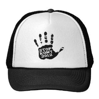 Kony 2012 Stop Joseph Kony Hand Trucker Hat