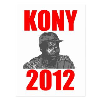 Kony 2012 Stop Joseph Kony Postcard