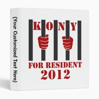 Kony 2012 Stop Joseph Kony Prison Binder