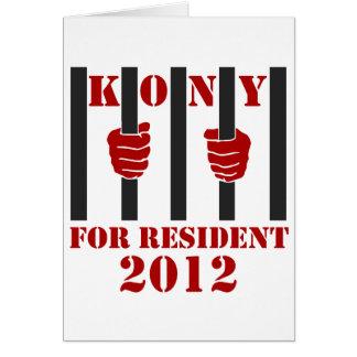 Kony 2012 Stop Joseph Kony Prison Card