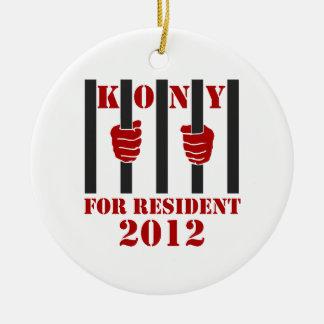 Kony 2012 Stop Joseph Kony Prison Ceramic Ornament