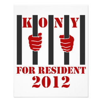 Kony 2012 Stop Joseph Kony Prison Flyer