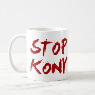 Kony 2012 Stop Red Bloody Joseph Kony Coffee Mug