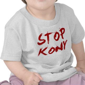 Kony 2012 Stop Red Bloody Joseph Kony T Shirt