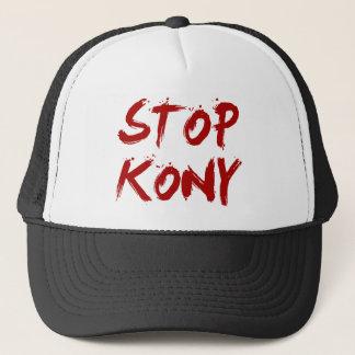 Kony 2012 Stop Red Bloody Joseph Kony Trucker Hat