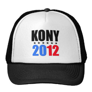 Kony 2012 trucker hat