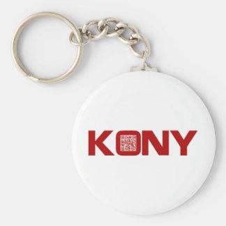 Kony 2012 Video Red QR Code Joseph Kony Keychain